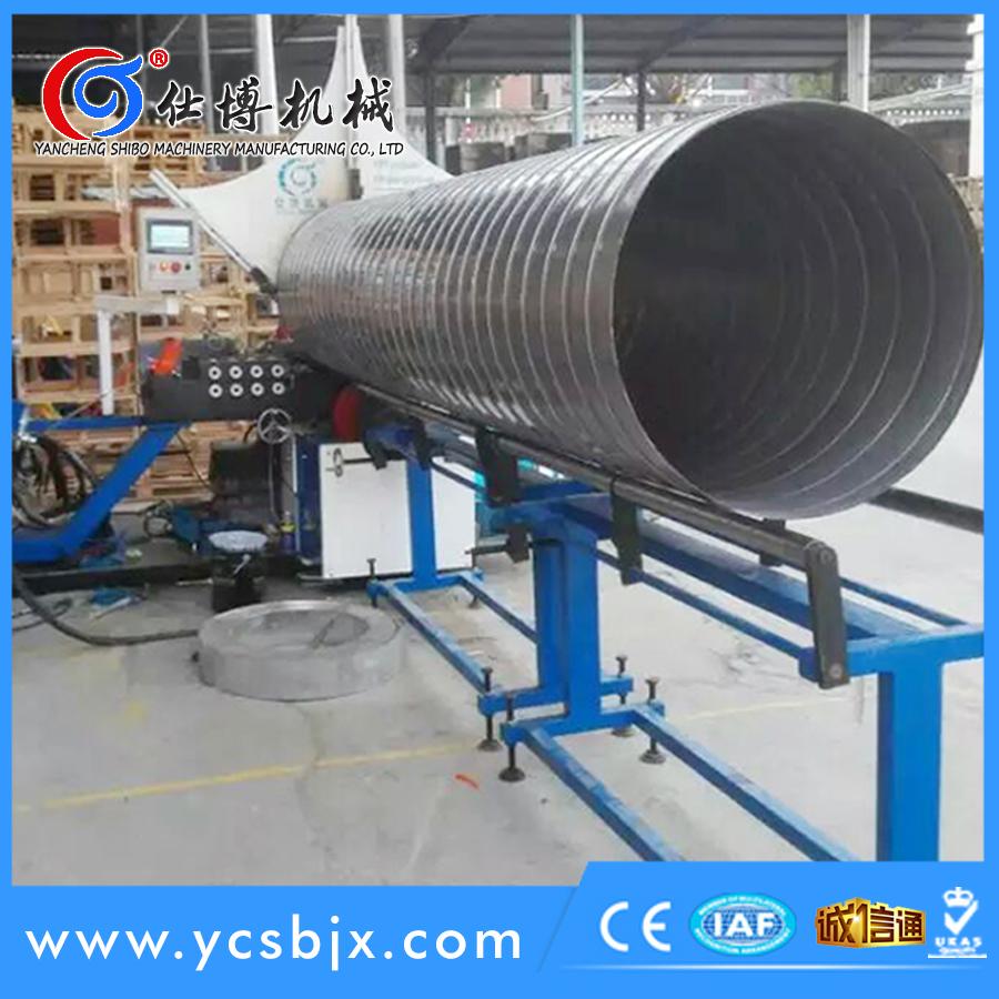 不锈钢螺旋风管机 (0.4-0.8mm)