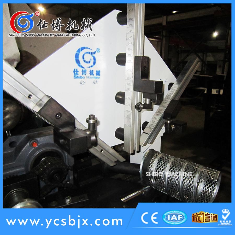 安徽滤芯管(螺旋冲孔管)螺旋风管机