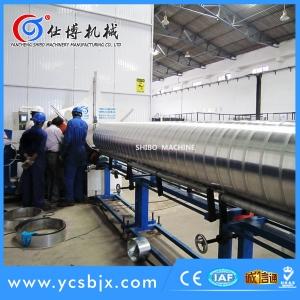 浙江铝板螺旋风管机