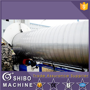 Stainless steel spiral duct machine (0.5-1.0mm)